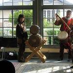 民族楽器・アフリカの太鼓で遊ぼう‼